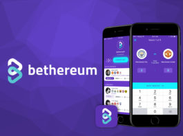 The Bethereum logo. Betherium is a blockchain based betting platform.
