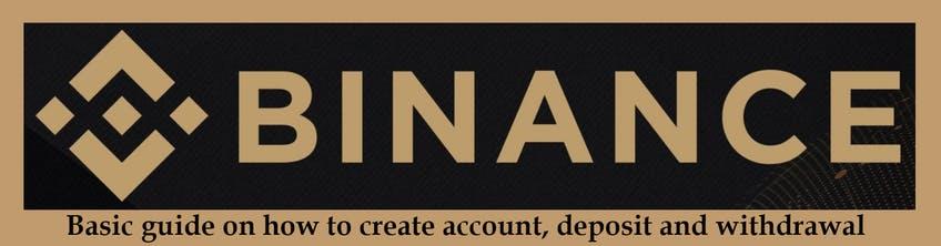 Creating a Binance Account