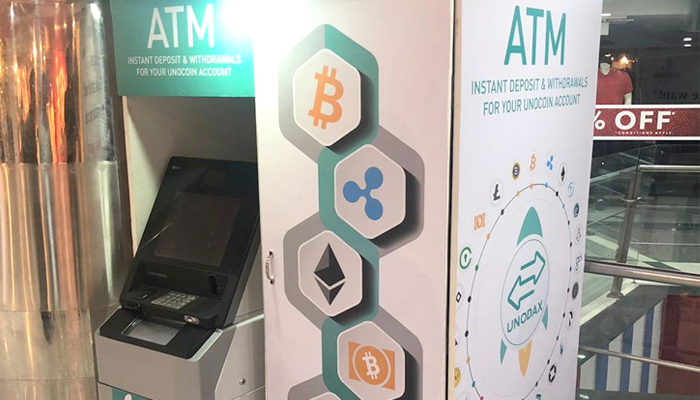Unocoin Launches The First Altcoin ATM In India