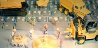 Bitcoin gruvedrift